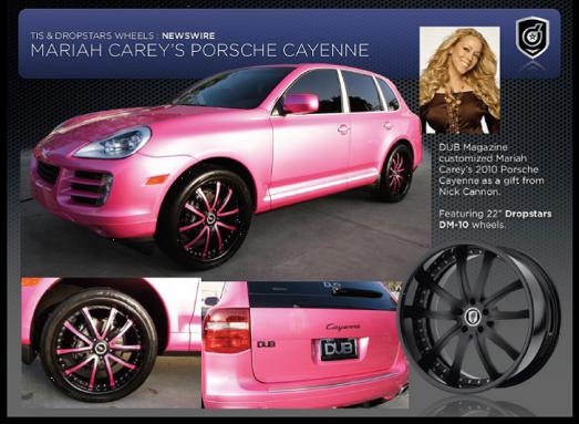Mariah Carey Porsche Cayenne
