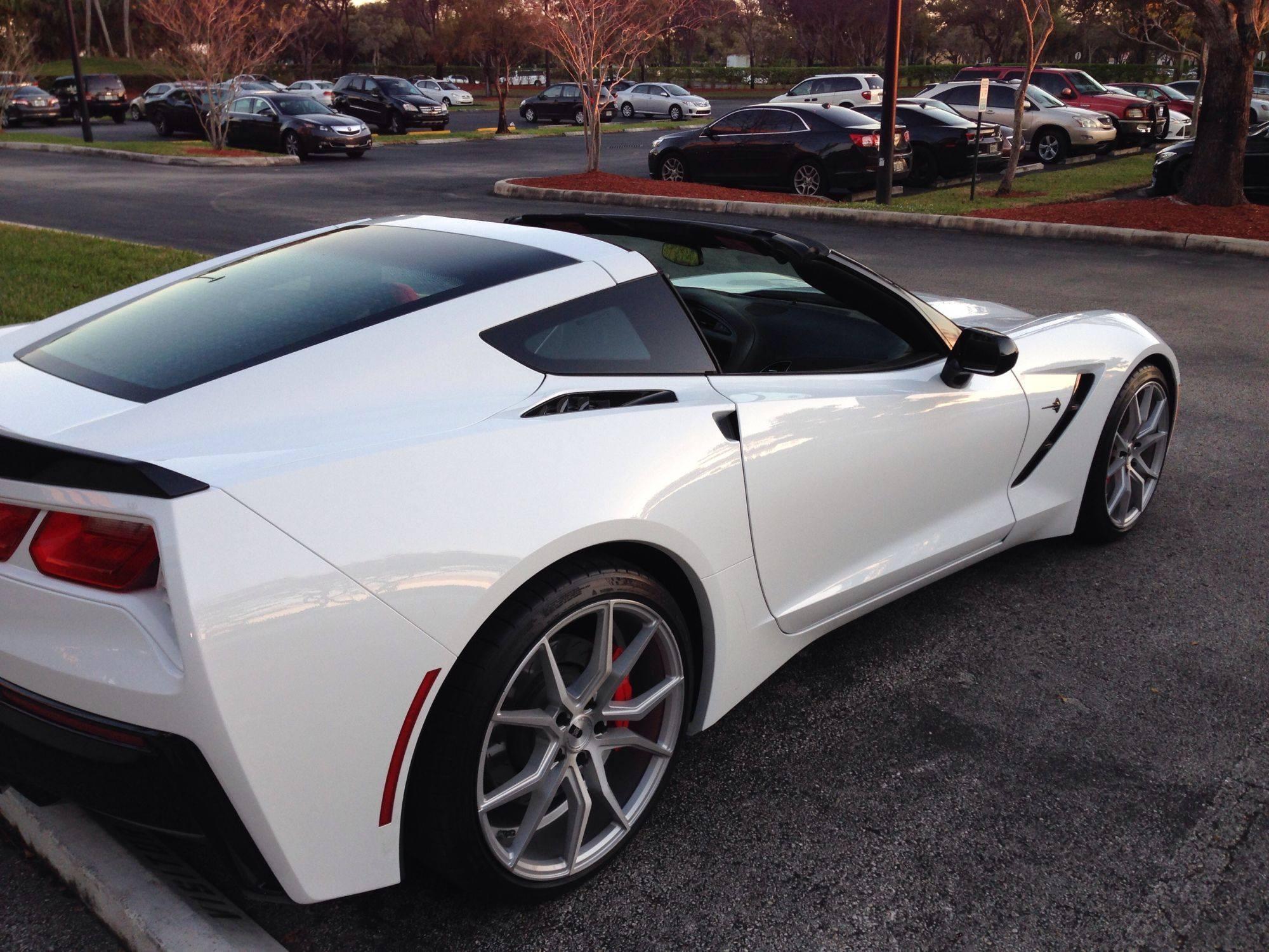 2015 Corvette Stingray. We have the perfect custom wheels ...